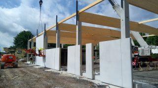 Louvain-la-Neuve - Construction d'une cuisine centrale collective pour l'UCL