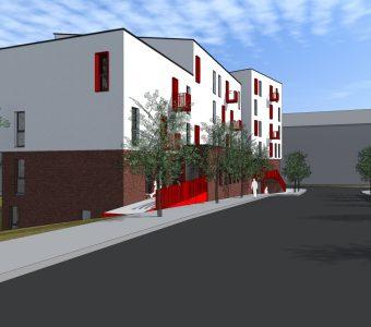 Projet de construction de 20 logements sociaux pour le Foyer Namurois