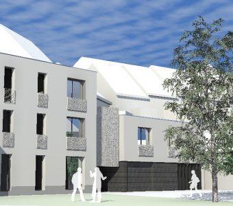 Construction d'appartements supervisés